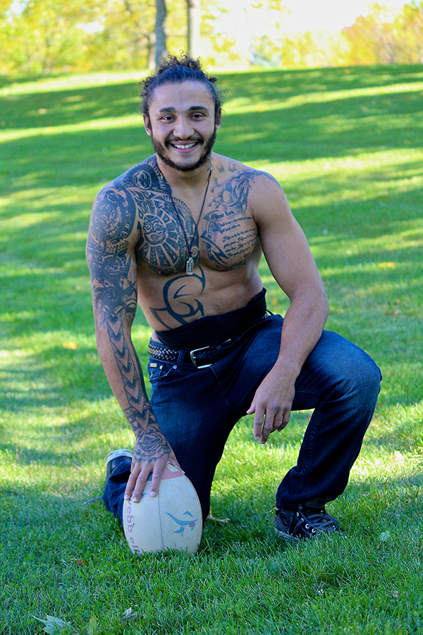 Trey Rugby Player - Photo Shoot-1