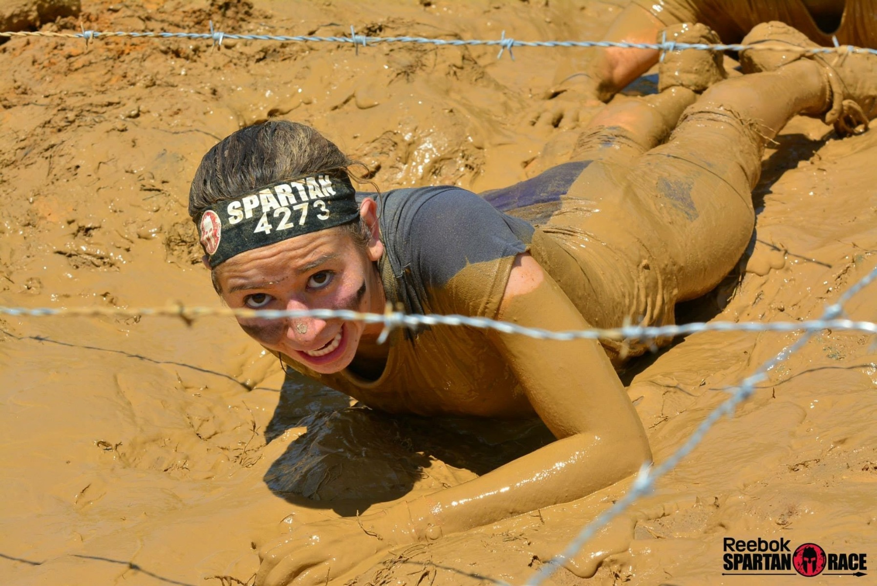 MollyOllyOstomy Muddy Spartan Race
